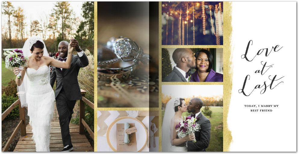 gold-foil-wedding-stationery-mixbook-photo-book 1