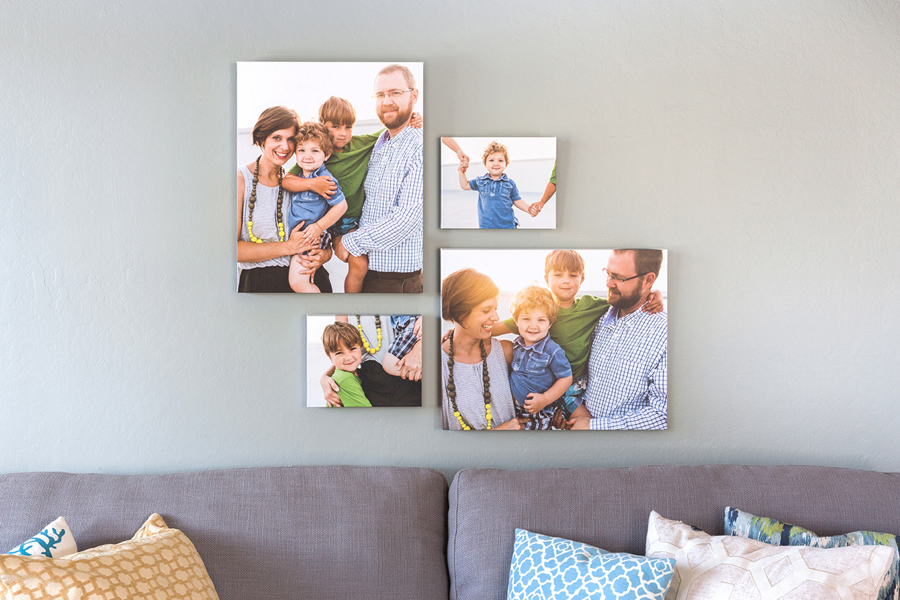 8x10 canvas print mixbook