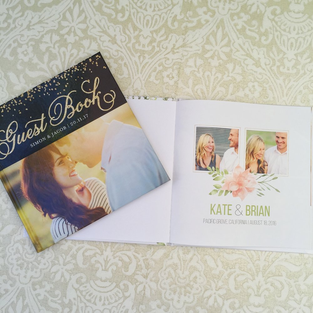 mixbook guest book