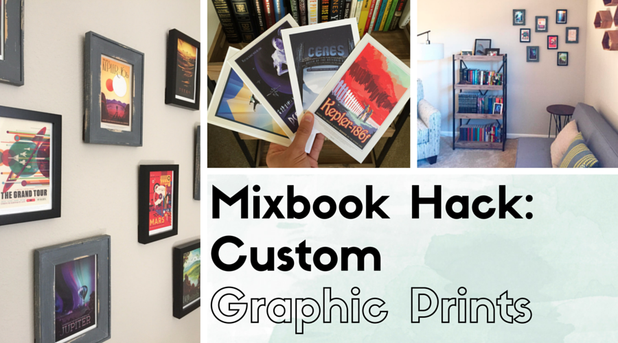 mixbook custom graphic prints
