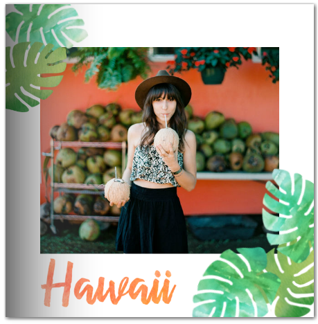 kelly purkey hawaii travel vacation photo book