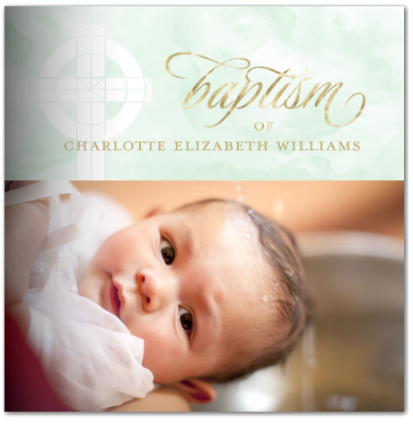 baby baptism christian photo book mixbook