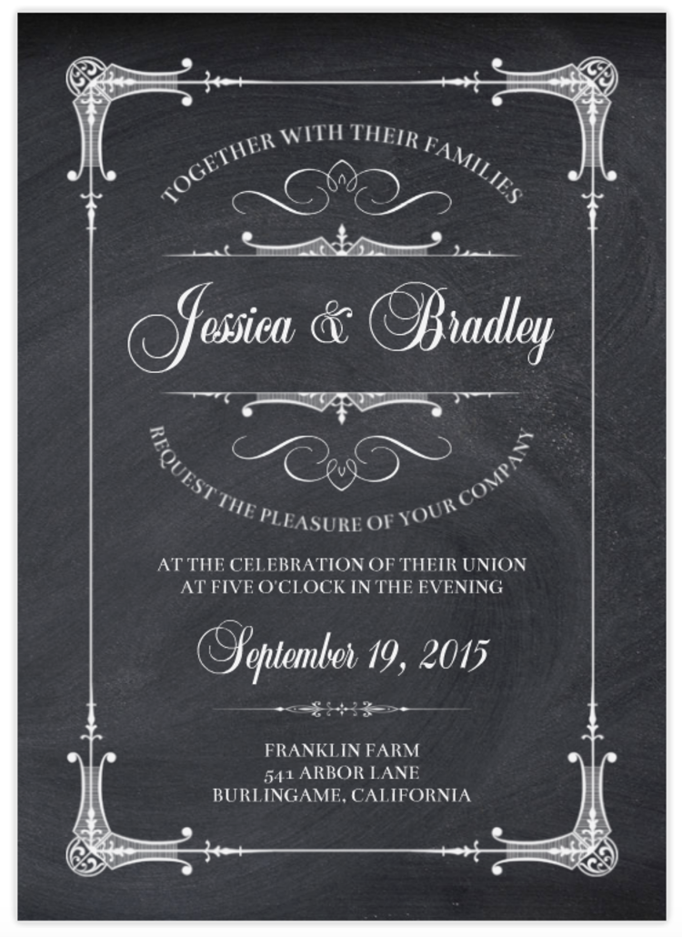 Introducing the newest wedding invitations from mixbook mixbook mixbooks sweet swans wedding invitation marries design inspiration from lots of current trends great typography a quiet palette and minimalist design stopboris Choice Image