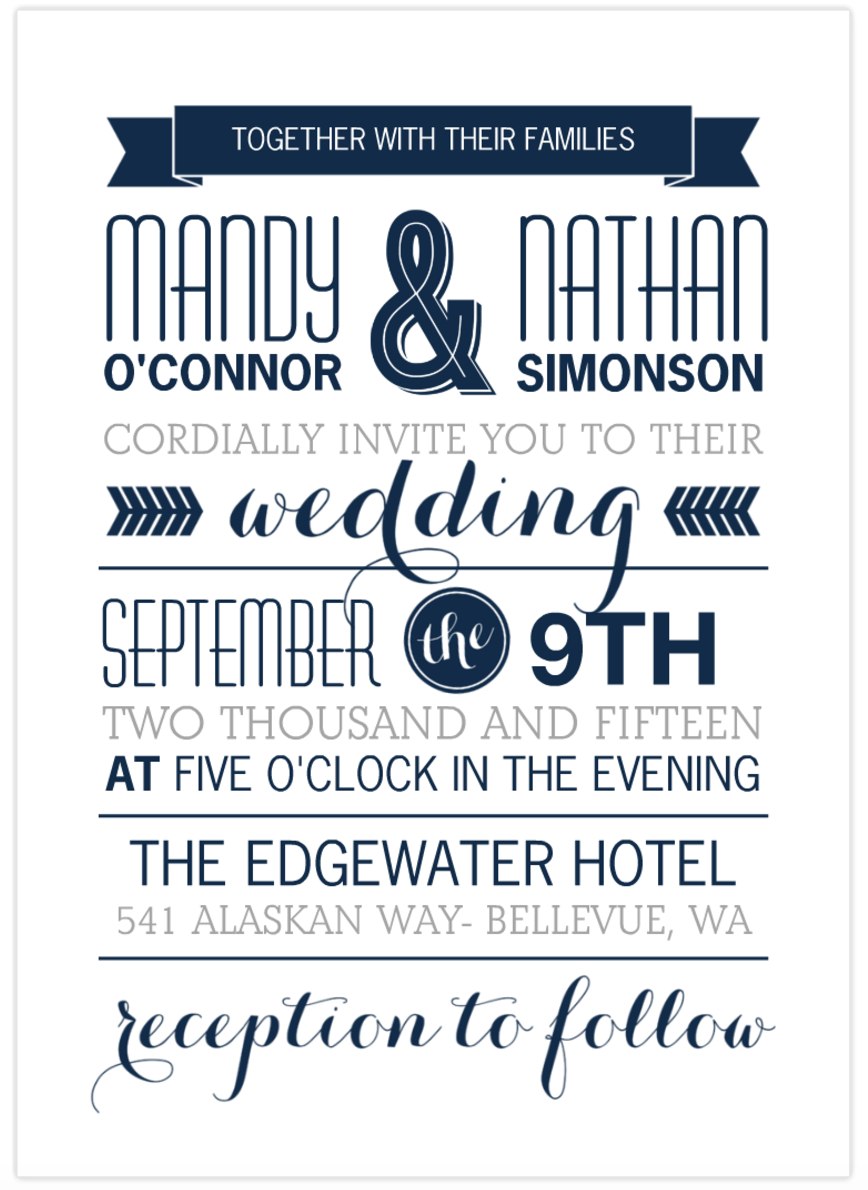 Introducing the Newest Wedding Invitations from Mixbook! — Mixbook ...