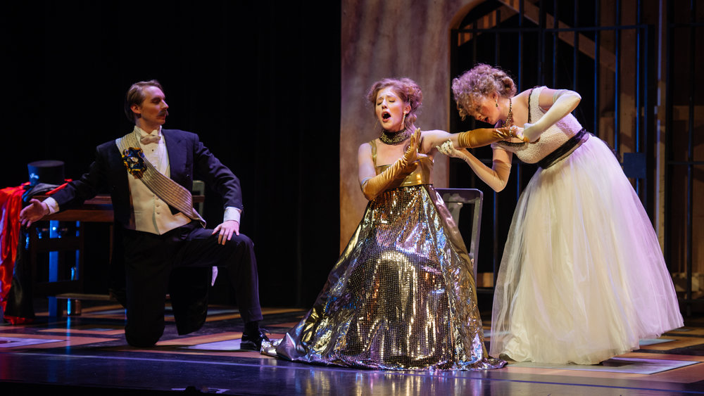 Gina as Adelle in  Die Fledermaus  with Opera McGill in 2017. (Paul Winkelmans and Jacoba Barber-Rozema)Photo: Tam Lan Truong tamphotography.net