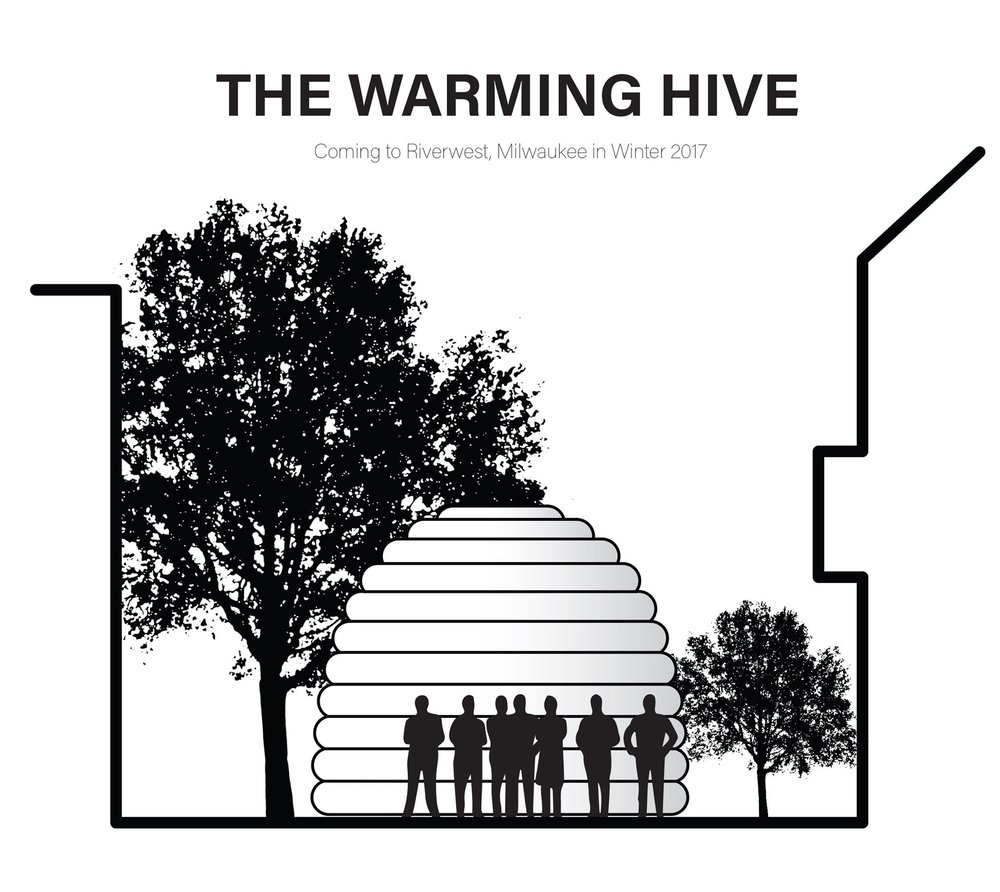 The Warming Hive is an airy collaboration among 11 School of Architecture and Urban Planning students instructed by assistant professor Whitney Moon, as well as artists Katy Cowan and Nicholas Frank of The Open, a multiplatform art gallery. Students in Moon's inflatable architecture seminar designed the pneumatic (air-inflated) hive as a portable installation that can host a variety of art programs. The Hive is adaptable to a variety of site and seasonal conditions, and offers capabilities that cannot be matched by traditional construction. -