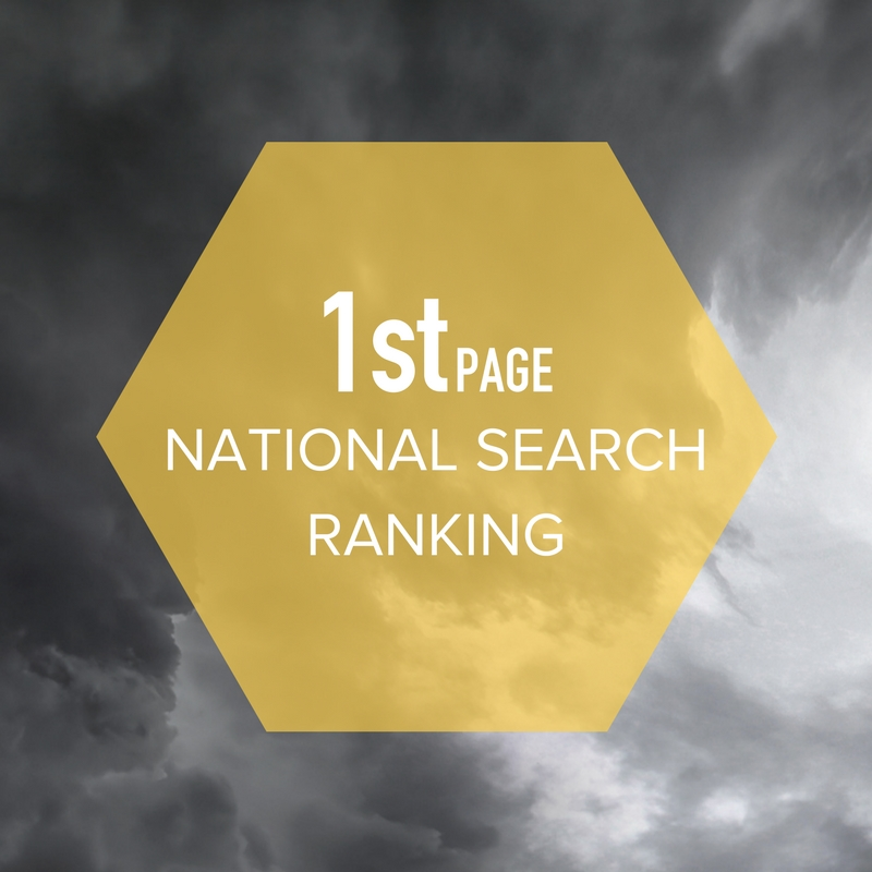 TOPic 1 i9media was able to successfully rank this client ahead of the leading competitor on the main keyword search placing them on the 1st page search ranking ahead of all competition.