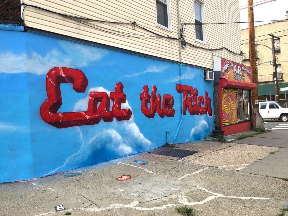 'Eat the Rich' Sam Pullin x DISTORT