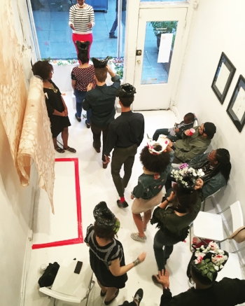 The Crowing, A Performance by  Tseday Makonnen (Image c/o Transformer)