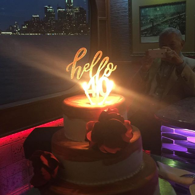 I had an amazing night celebrating one of my best friend's 40th birthday in NYC! Thank you @kgbattista @firstpreiser for making this night possible.