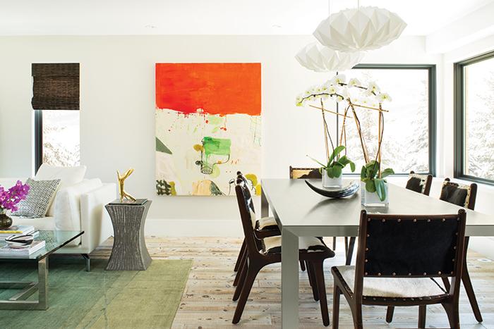 Amanda Precourt - Colorado Home Shown: Bowery Dining Table