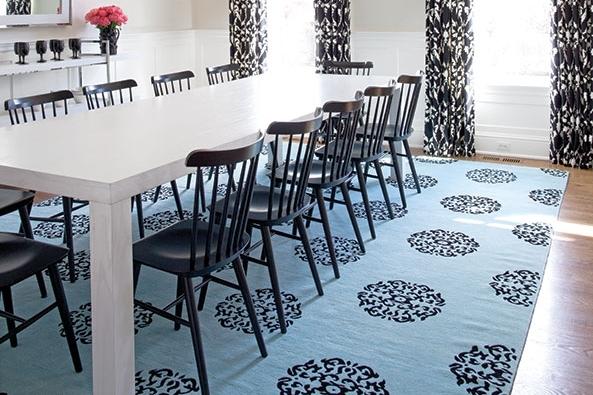 Karen Bow Shown: Custom Nolita Dining Table