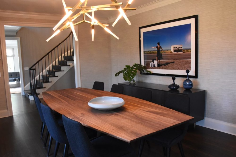 Monica Fried Design Shown: Fulton Dining Table