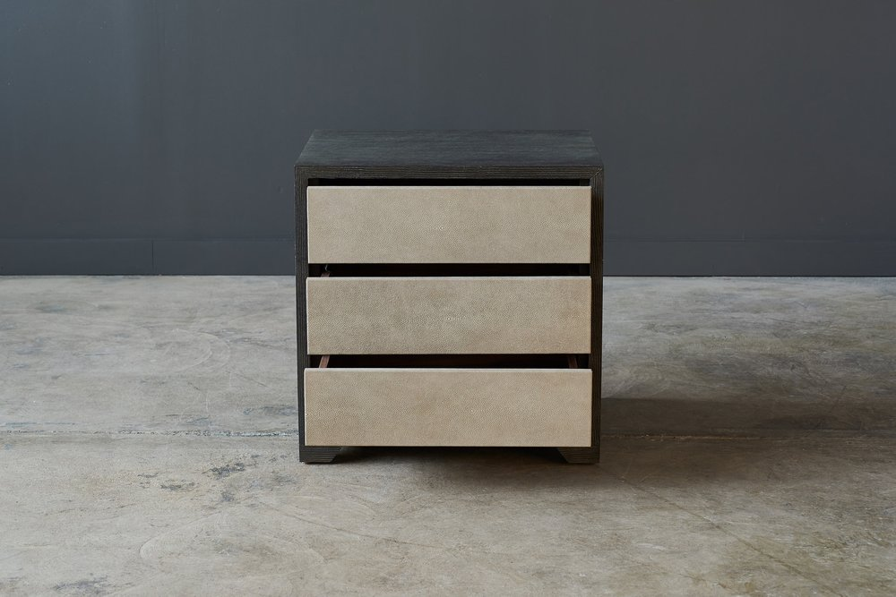 Grove Side Table   3 Drawer