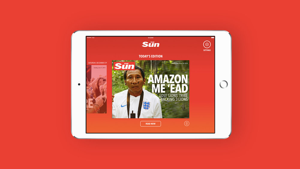 News UK: Sun Tablet