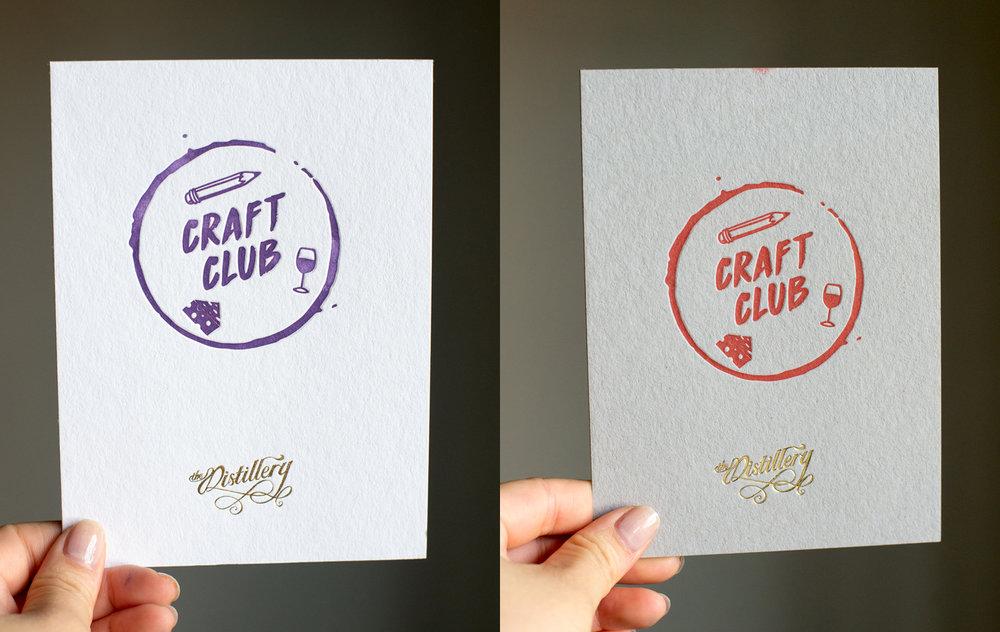Craft Club cards!