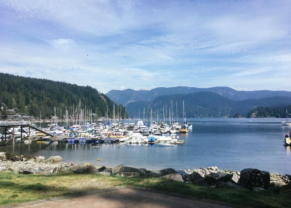 Vancouver's so scenic :)