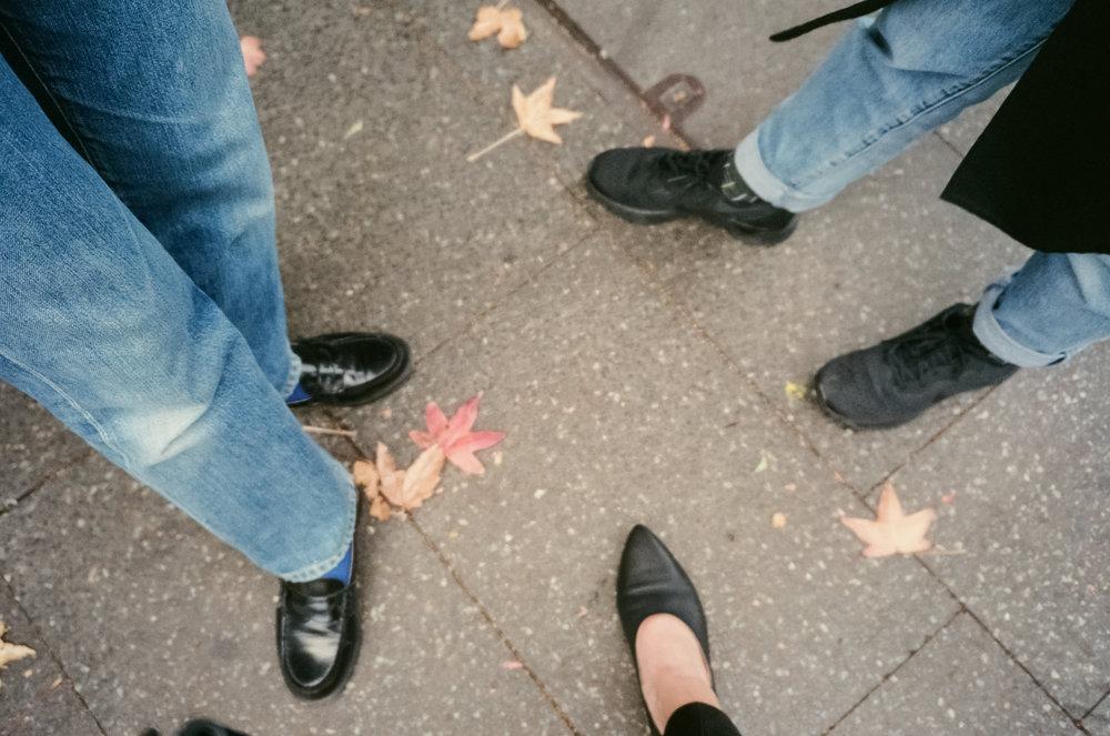 Black shoe club