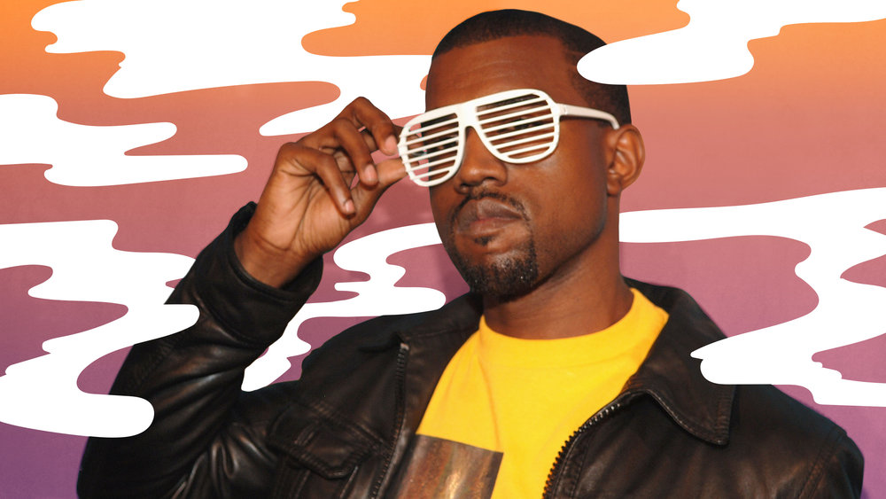 "Graphic for  The A.V. Club  article,  ""10 years later, Graduation remains Kanye's biggest, most joyful record"""