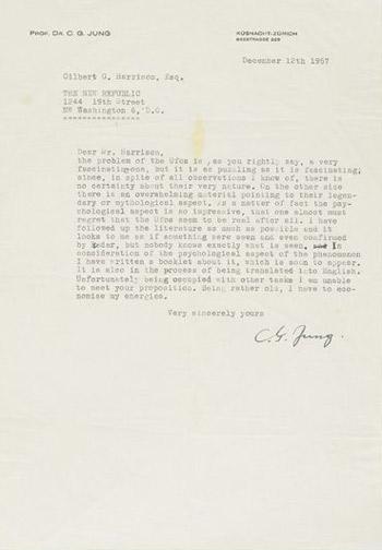 Jung-UFO-Letter