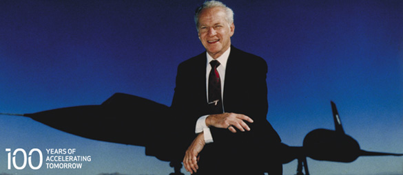 Ben Rich (image credit: Lockheed Martin)