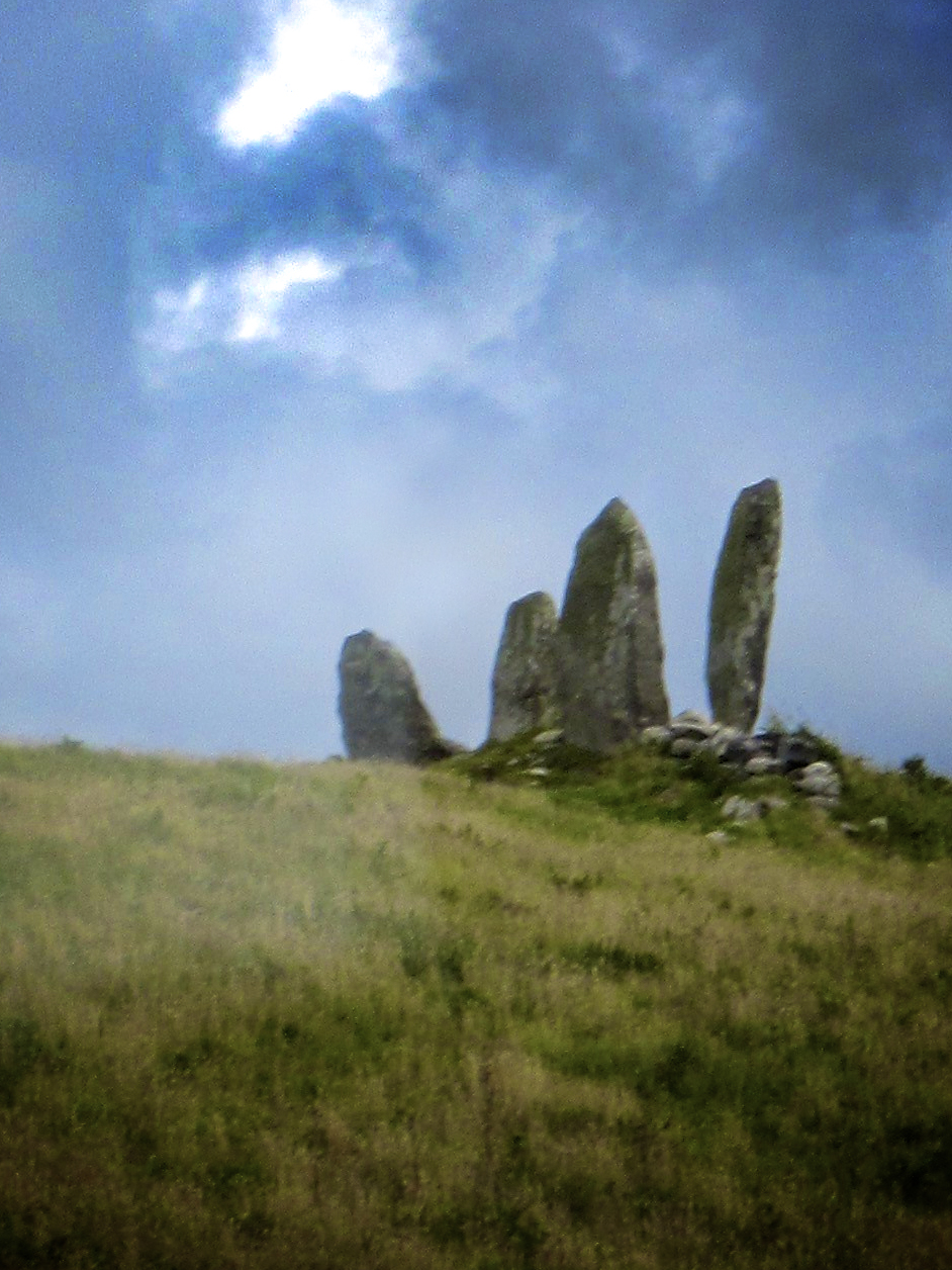 The Hand (Standing Stones in the Ring of Kerry, Ireland)