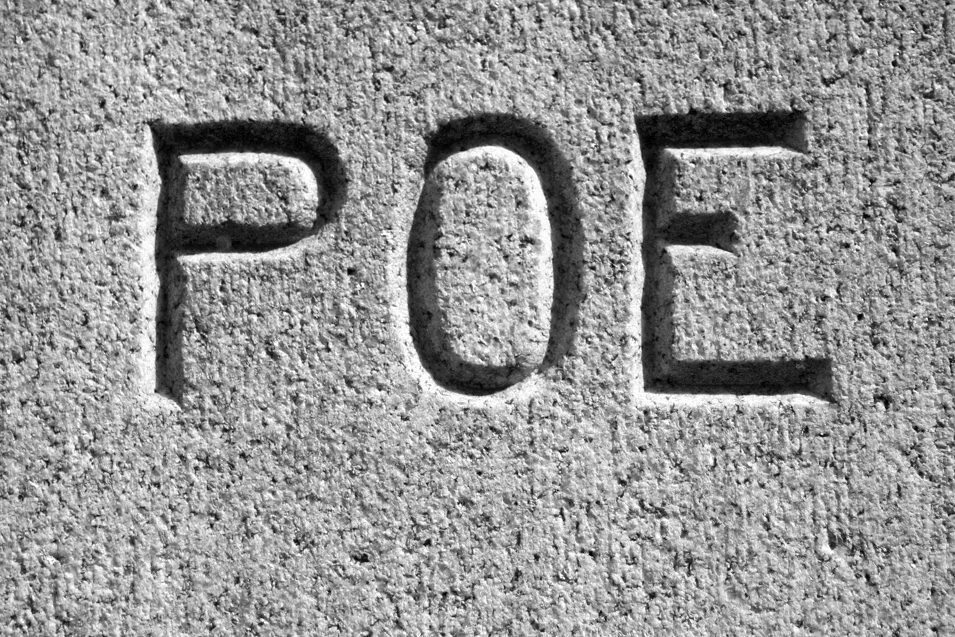 Poe's Grave (detail)