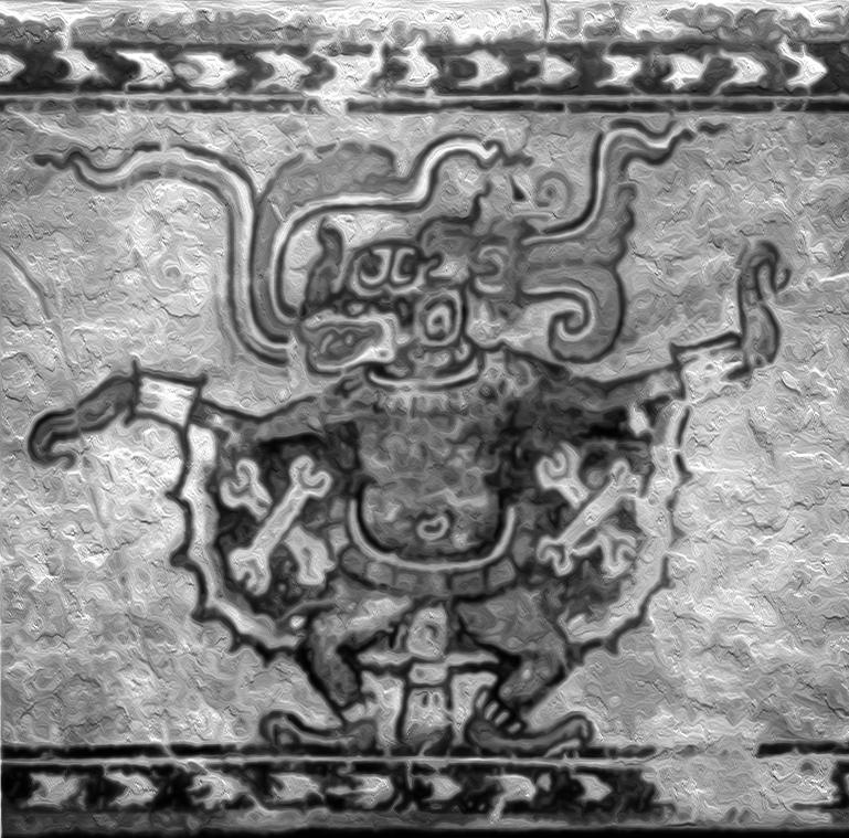 Camazotz, Mayan bat god.
