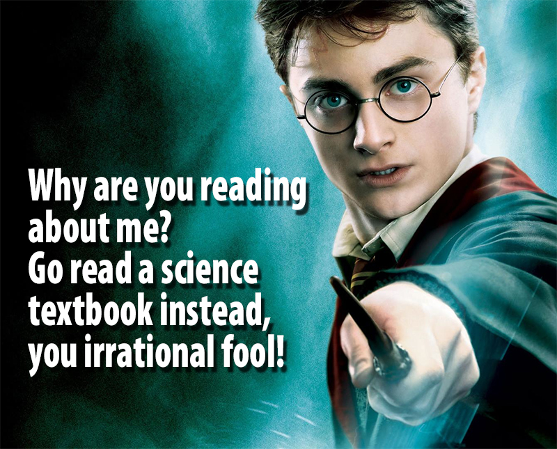Harry Potter vs. Richard Dawkins