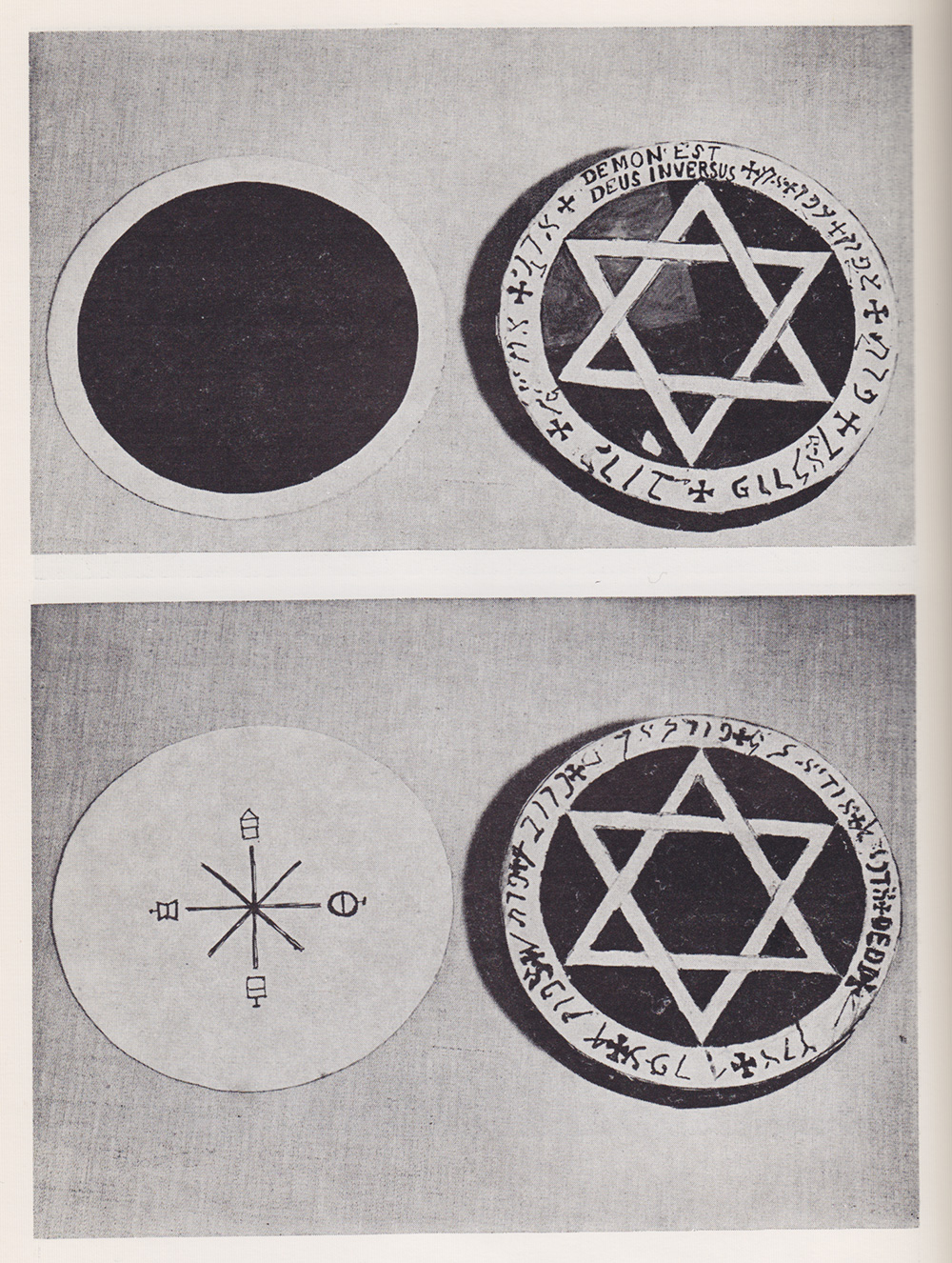 Yeats's Golden Dawn Earth Pentacles