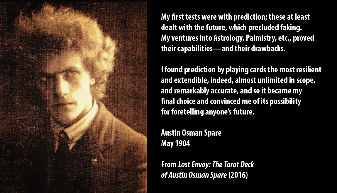 Austin Osman Spare on Tarot