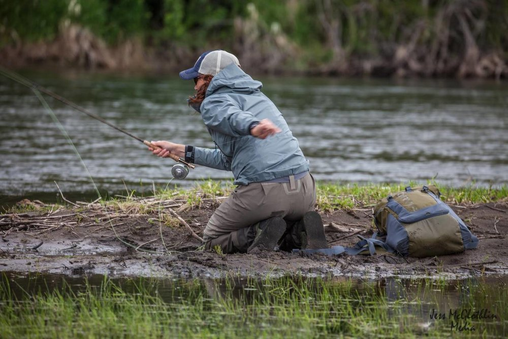 I Didn't Break up With Flyfishing  Hatchmag.com, July 2015  Photo: Jess McGlothlin Media