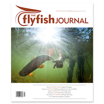 Stage Fright  The Flyfish Journal, Issue 9.3
