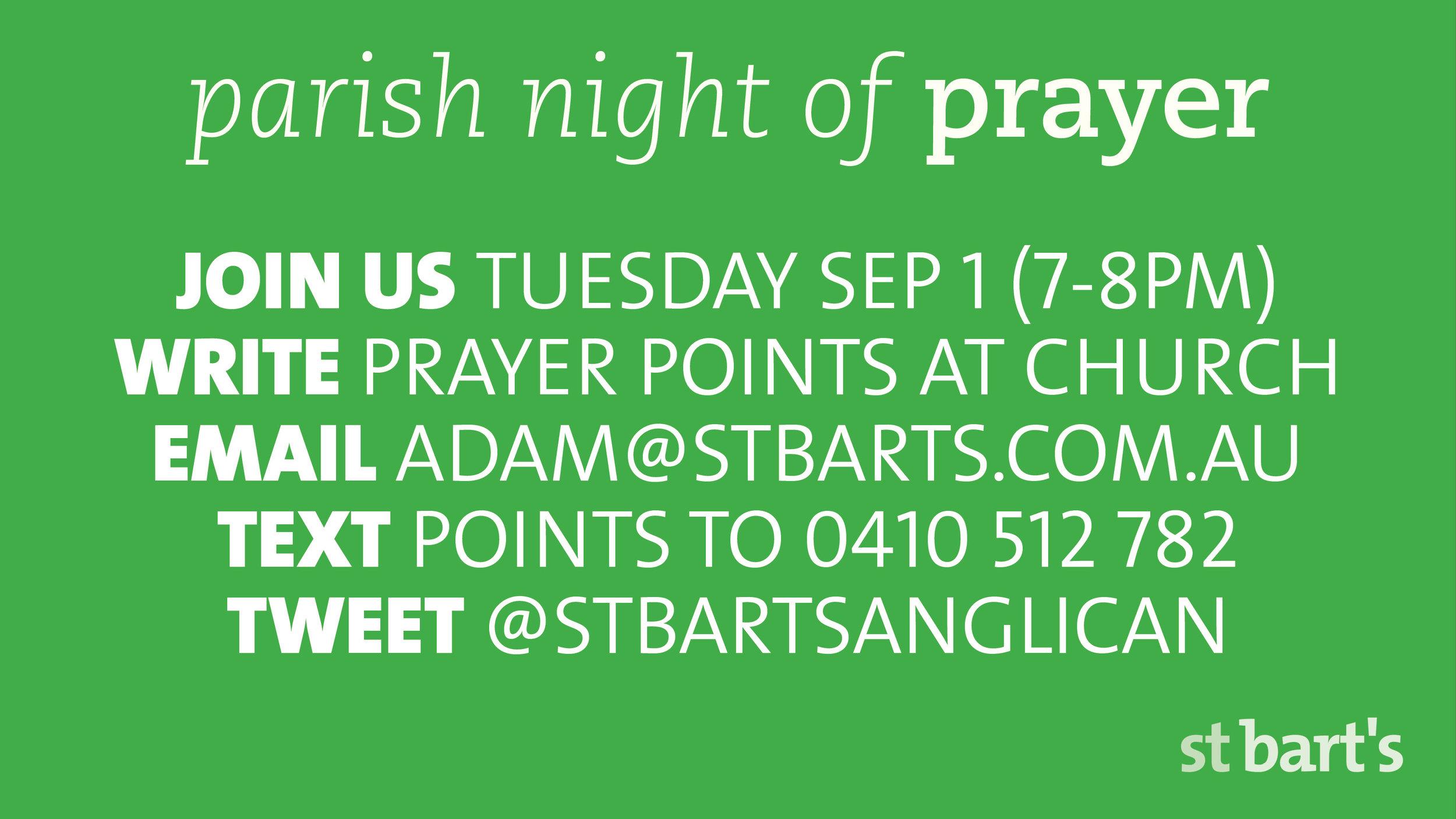 Prayer Slide September2