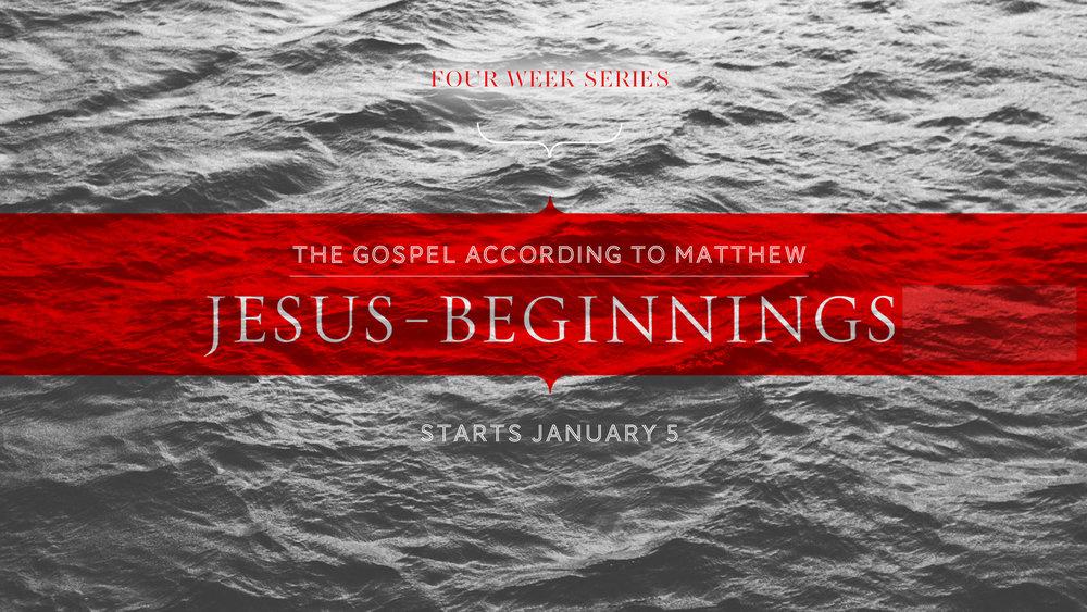 Jesus Beginnings
