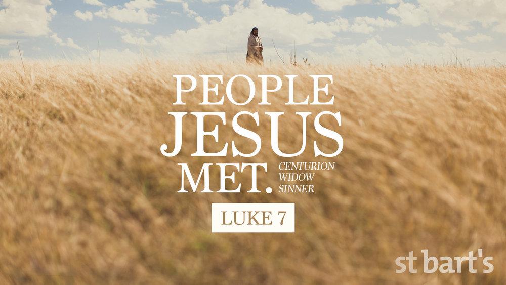 People Jesus Met