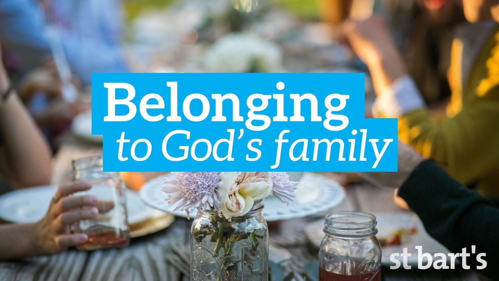 Belonging to God's Family