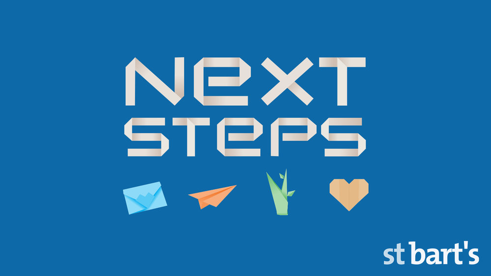 A Year of Next Steps