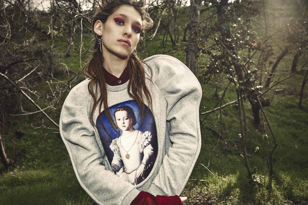 Infanonymous sweater,Ann Demeulemeester shirt