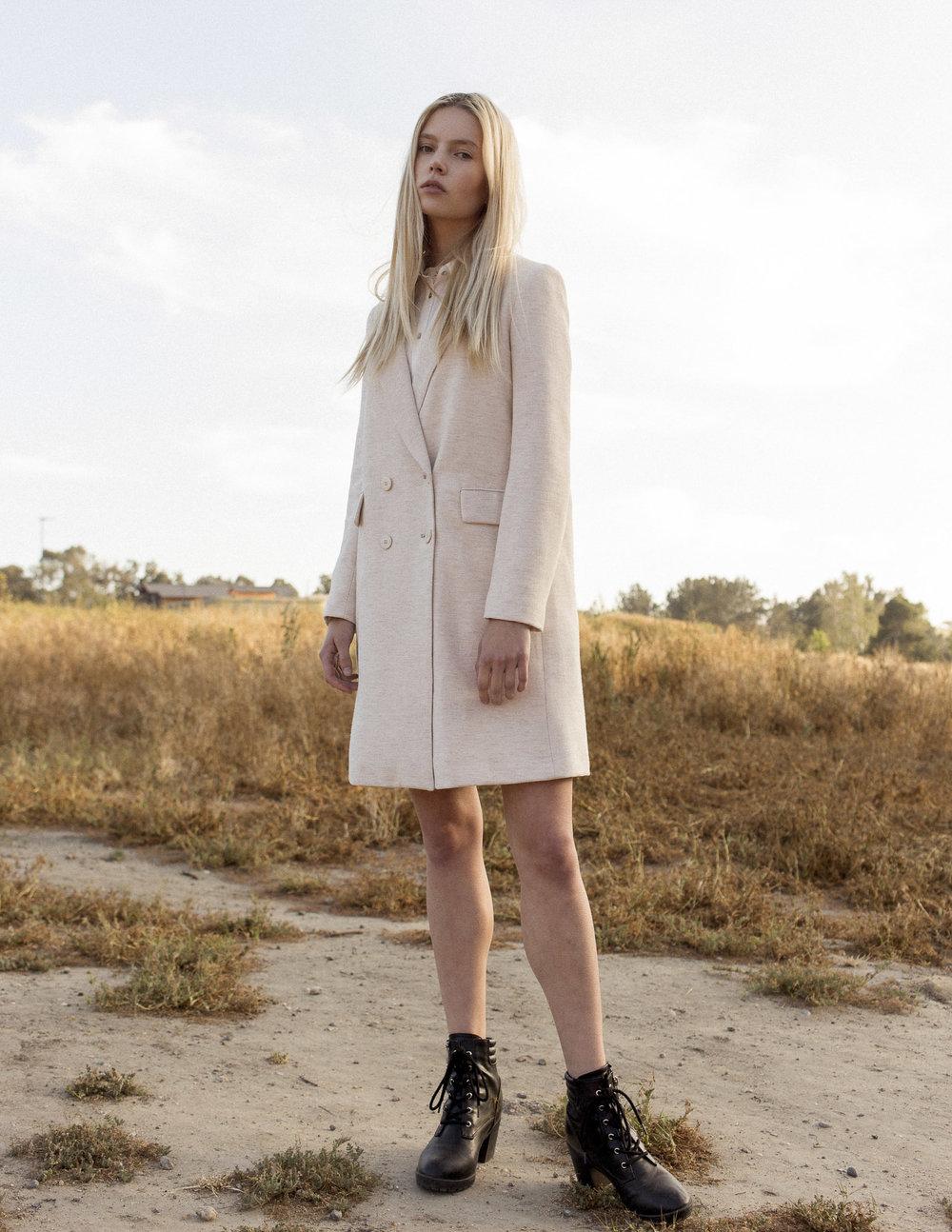 Zara coat, Mossimo boots