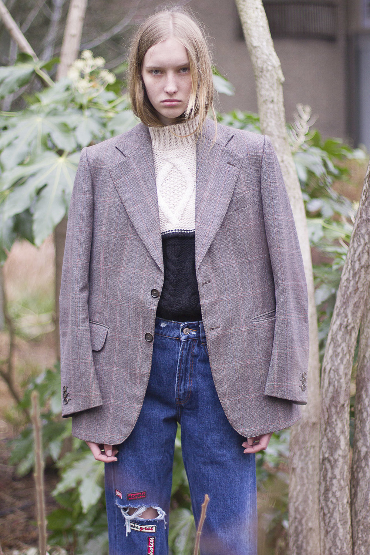 Fraiche jacket, Zara jeans,River Island woolen sweater