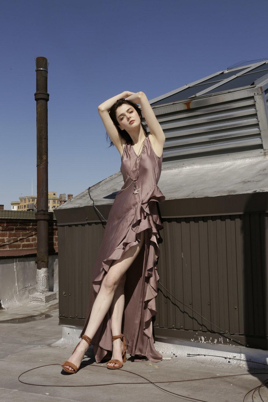 Tryb 212 dress, Helen Westbye heels