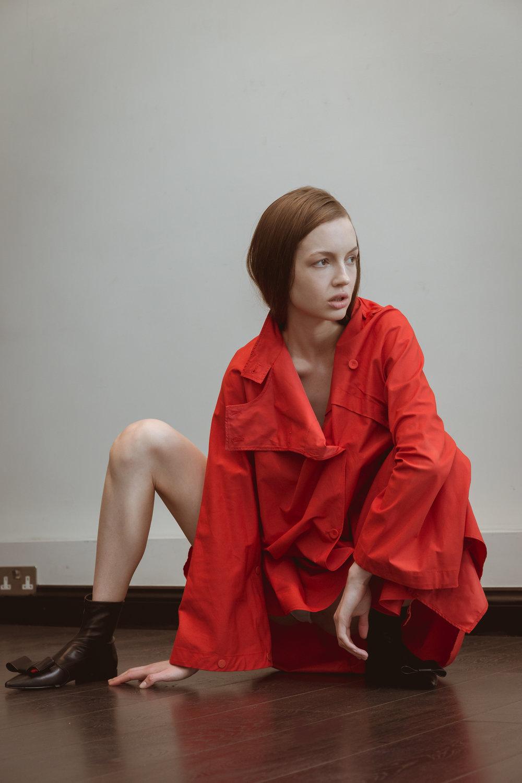 Asos coat, Zara shoes