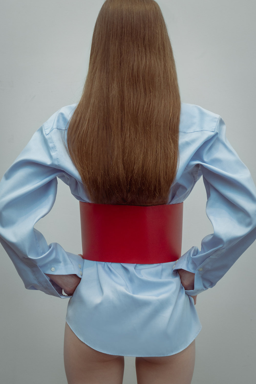 Calvin Klein shirt,Zara belt