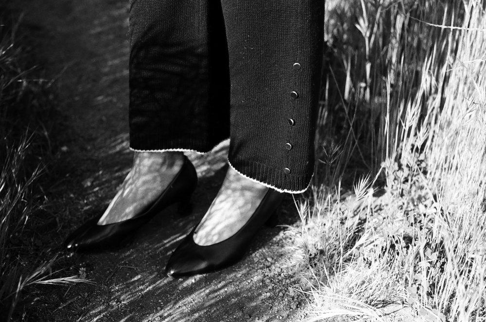 Maria Dora pants, Vintage shoes
