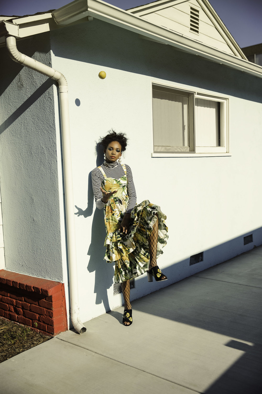 H&M dress,Ralph Lauren turtleneck, betsey Johnson shoes