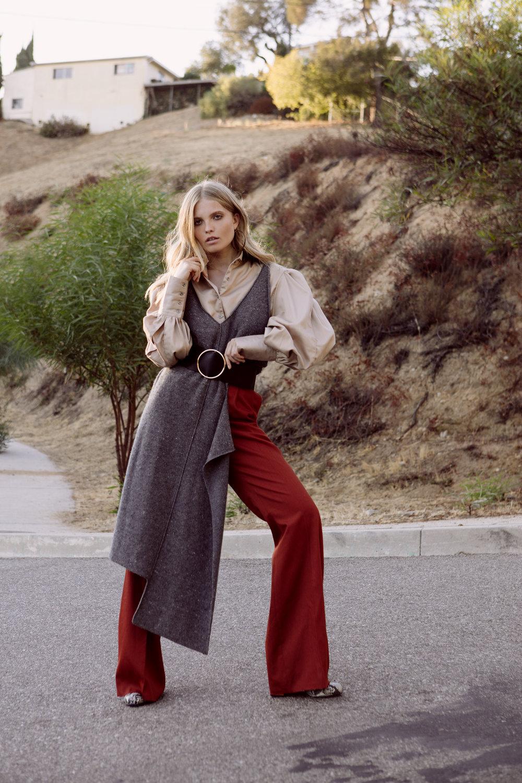 Stella McCartney tunic, Edun shoes