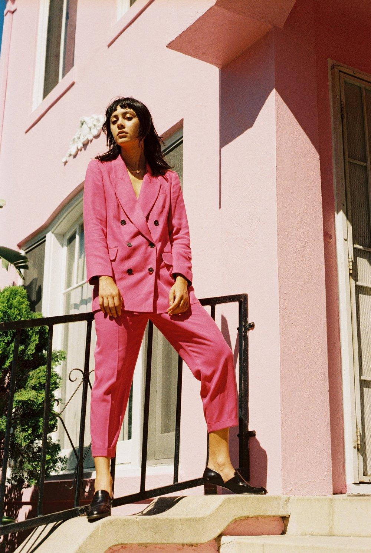 Zara suit, Vintage shoes