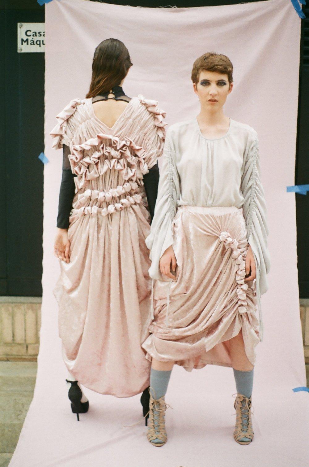 Skirt and Dress  —CAMILA TIRADO, Blouse  —ARGEMIRO SIERRA Bodysuit  —VELOURS DANCE WEAR