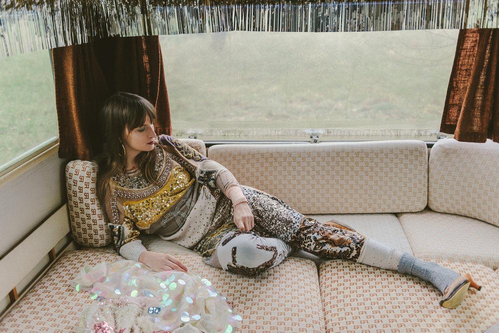 Overall—LENKA VACKOVÁ, Socks—H&M, Shoes—Dress—ZARA